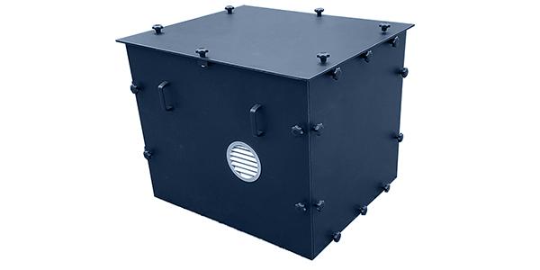HDPE omkasting ventilator van WTA Luchttechniek
